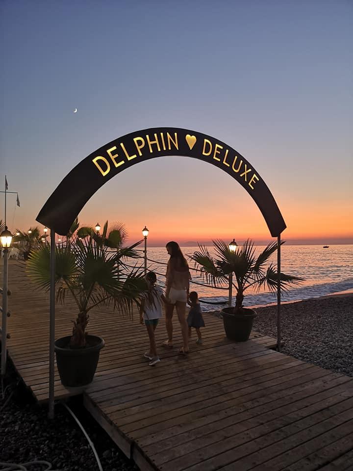 Delphin Deluxe hotel atsiliepimai