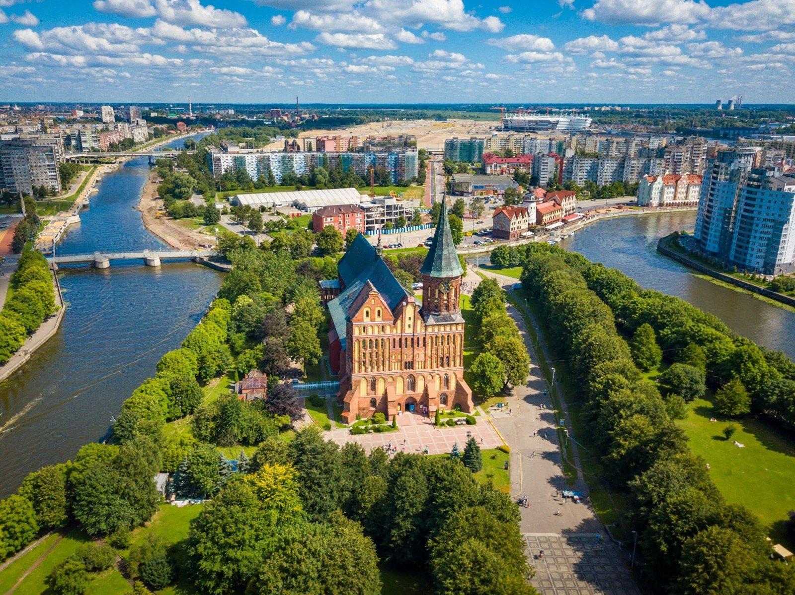 Kelionė į Kaliningrado sritį su nemokama viza