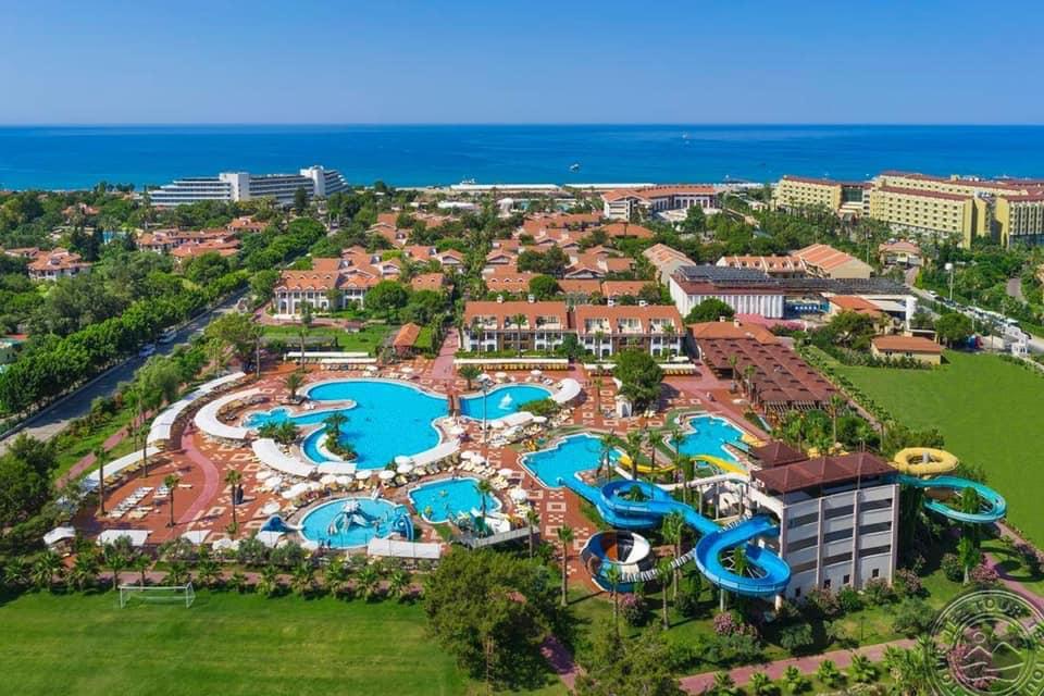 Club Hotel Turan Prince World atsiliepimai Turkija